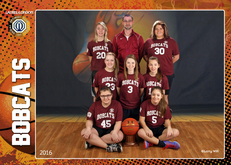 Basketball Team Photos - Laurel-London Optimist Club