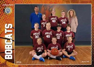Bobcats (7-11 Girls)