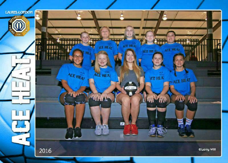 Volleyball Team Photos - Laurel-London Optimist Club